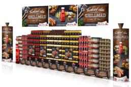 Orkla Foods – Forkæl Din Grillmad – Crossbrand-kampagne – opstilling-2